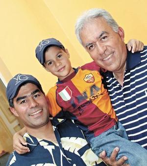 José Luis Meza Villarreal, José Luis Meza Villalobos y José Luis Meza Sepúlveda