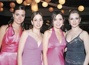 Martha Jaidar, Ana Lorena García, Miriam Villalobos y Ana Claudia López
