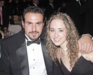 Mario Villarreal y Mary Nelly Fernández