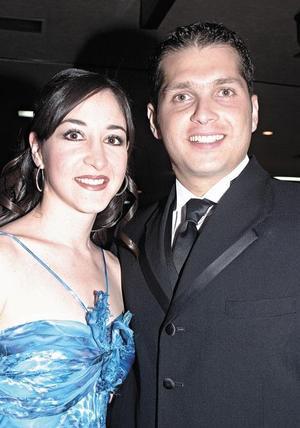 Vicky Ibargüengoytia y Gerardo Murra