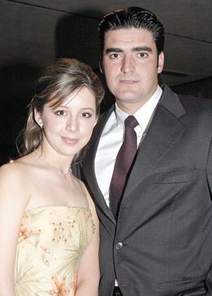Malena Papadópulos y Fernando Ramos