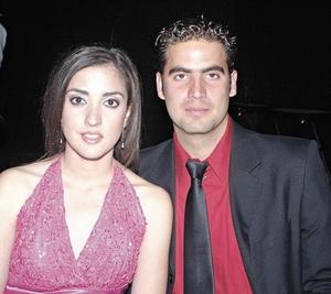 Claudia Hamdan y Enrique Gallegos