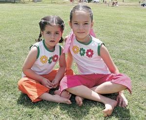Mariana y Natalia Giner.
