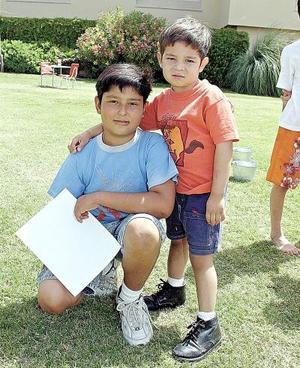 Mauricio Corona y Diego Gurrola..
