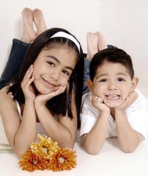 Karla Janeth y Edson Carlos de la Rosa Ramos.