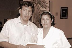 Francisco Javier Ortiz Arellano y Herlinda Loera Aguirre.
