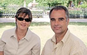 Mary Calleja y Eduardo Sesma.
