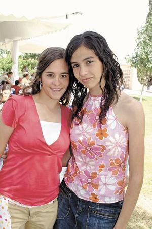 Eri Hernández y Marce González.