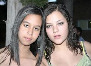 Gabriela Goray y Laura Briceño .