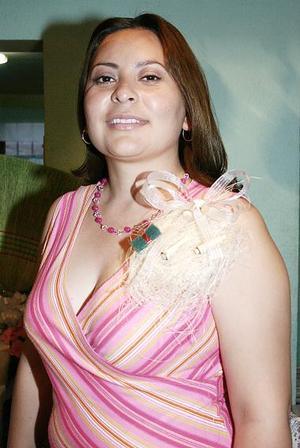 Gabriela Delgado Escobedo, en la primera despedida que le ofrecieron por su cercano matrimonio