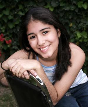 Angélica Caldera Morales festejó su cumpleaños recientemente.