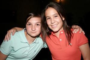 Lorena Murra y Cristy Baca.