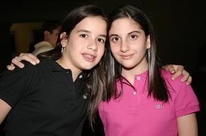 María Llamas y Miriam Chamán.
