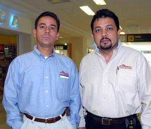 <b>03 de mayo </b> <p> José Carlos Ayala y José Díaz, viajaron a México, DF
