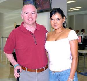 Jorge Echavarría viajó al DF y fue despedido por Susy Galindo.