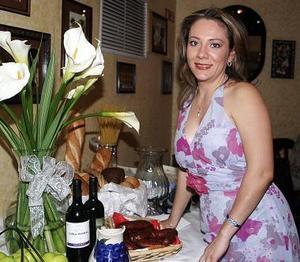 Lisette Morales García, en su última despedida de soltera.