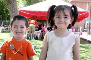 Hassan y Michelle Habib Ramírez.