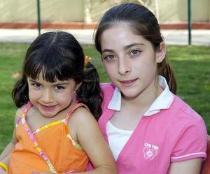 Samia Salazar y Maritere Berumen.