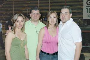 Juan Carlos García Colores, Emma D. de García Colores, Carlos Rendón Reyes y Liliana O. de Rendón