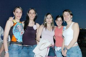 Bárbara, Carry, Catalina, Cecy y Marce.