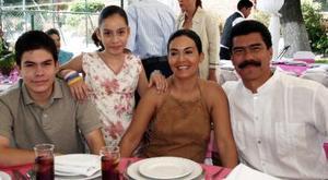 José Luis Cuervo, Catalina de Cuervo, José Cuervo y Katia Cuervo.