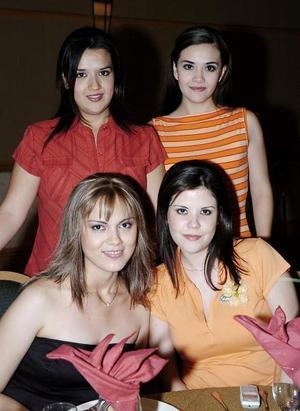Gloria Pérez, Georgina Reynoso, Lorena de Balderas e Ivette de García de Alba