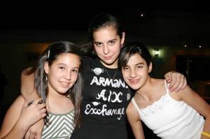 Ángela Murra, Angélica Sesma y Paola González