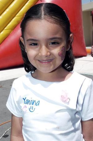 Yanina Barajas Palomares, en reciente festejo