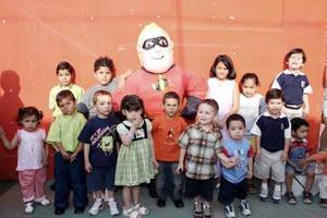 <b>07 de mayo </b> José Fuad David disfrutó de una divertida fiesta infantil