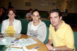 Linda Fayad, Linda Fayad de Zarzar y Gerardo Zarzar.