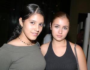 Sarahí Robledo y Cassandra Garza.