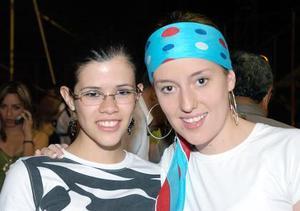 Laura y Roberta Sánchez.