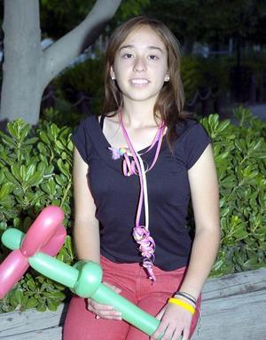 Martha Patricia Gaucín Castañeda, captada el día que celebró su cumpleaños.