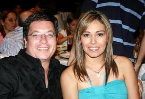 José Manuel y Vanessa Tamayo.