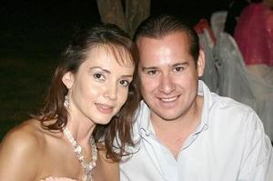 Liliana Quintero y Arturo Gilio Hamdan.