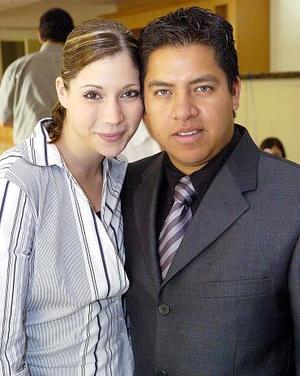 Luisa Villarreal y Édgar Ruiz