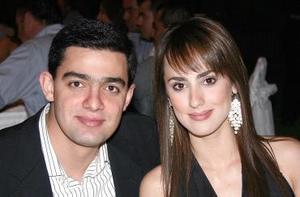 Nessim Issa y Nancy Perella