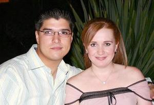 David González y Brenda Noyola