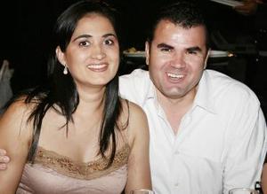 <b>11 de mayo </b><p> Vero y Gonzalo Ramírez.