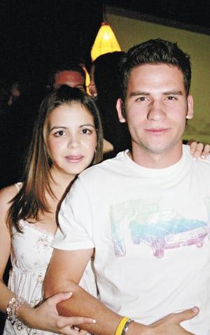 Lydia Cárdenas y Luiser Olhagaray
