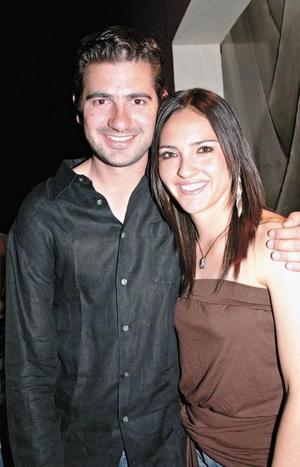 Beto Ruiz y Marcela Foglio