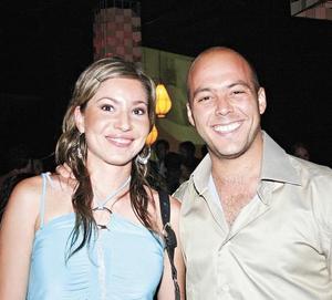 Rocío Sañudo y David González