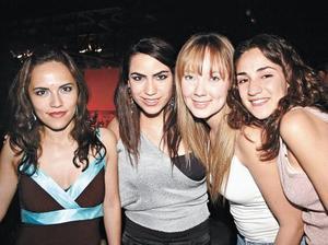 Susi, Ale, Jaqui y Paola