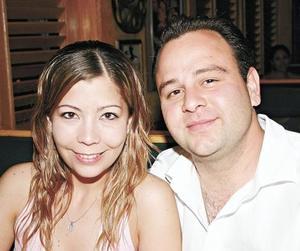 Alejandra Álvarez Garza y Omar Hernández Batarse