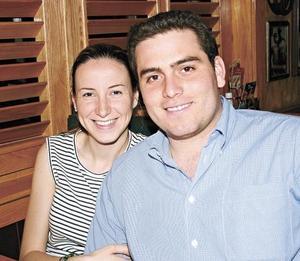 Claudia Rosas Martín y Guillermo Arratia Abularach