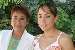 Alicia Jaime y Alicia Jaime de Rodríguez.