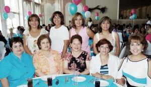 Maricela Ruiz, Chelito Díaz, Inés Sandoval, Saby Lomelí, Mayela Romero, Norma Liu, Tensy Ibarra, Esther Cabral y Paty López