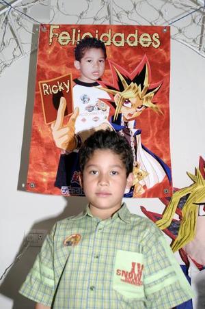 Por su octavo cumpleaños, José Ricardo Puente Rodríguez disfrutó de una divertida fiesta infantil.