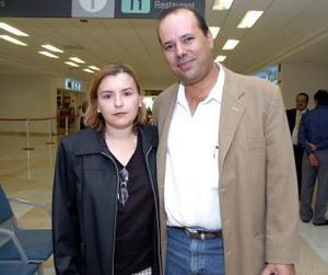 Fernando y María del Pilar Casas viajaron a Cancún.