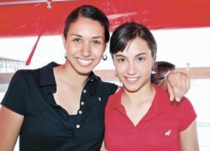 Denisse Kort y Emilia Ochoa